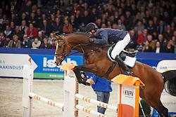 Lemmen Patrick (NED) - Dantos HBC<br /> KWPN Stallion Selection - 's Hertogenbosch 2014<br /> © Dirk Caremans