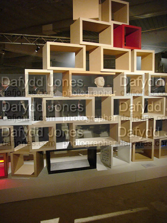 Exhibition of furniture by Rolf Sachs,  Looise Guinness Gallery, 250 Brompton Rd. ONE TIME USE ONLY - DO NOT ARCHIVE  © Copyright Photograph by Dafydd Jones 66 Stockwell Park Rd. London SW9 0DA Tel 020 7733 0108 www.dafjones.com