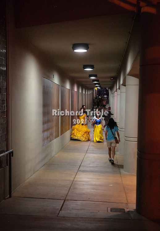 4th Avenue underpass during Halloween