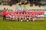JFC at Pairc Tailteann, Navan, 16th April 2016<br /> Meath Hill vs Drumconrath<br /> Drumconrath Team, Back Row, L-R, Derek Duff, James McMahon, Robbie McEntaggart, Damien Glass, Christopher Tighe, Dylan Dardis, Tomas Conlon, Sean Kane, Paddy Carolan, Cathal Dunne, Peter Tighe, Thomas Carolan, Jamie Moyles, Alan Dunne.<br /> Front Row, L-R, Alan Byrne, Aidain Tighe, John Lynch, Conor O`Halloran, Terry Skelly, Daniel Byrne, Steven Crosby, Packie Dunne, Peadar Farrelly.<br /> Photo: David Mullen /www.cyberimages.net / 2016