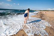 Sardegna, Italy. Costa Verde, Marina di Arbus, Iglesiente, Spiaggia di Pistis.