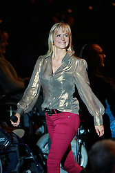 © Licensed to London News Pictures.  30/11/2012. LONDON, UK. Gadget Show presenters Jason Bradbury (not pictured), Pollyanna Woodward (pictured) and Jon Bentley (not pictured) host a Christmas themed technology show at the Gadget Show Live event at the ExCel centre in London, The event opened today (Friday 30th) and runs until Sunday. . Photo credit :  Cliff Hide/LNP