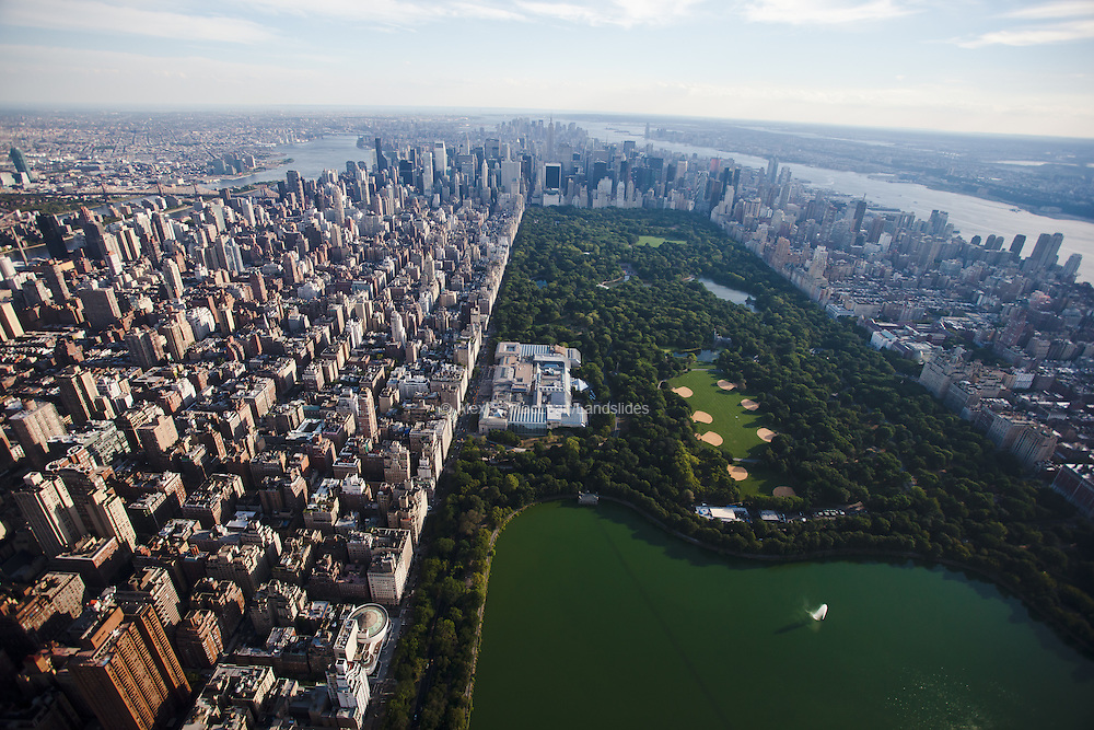 Looking south over Central Park