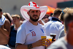 England fans  prior to kick off - Ryan Hiscott/JMP - 07/07/2018 - FOOTBALL - Ashton Gate - Bristol, England - Sweden v England, World Cup Quarter Final, World Cup Village at Ashton Gate