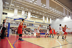 Bristol Flyers' Roy Owen - Photo mandatory by-line: Robbie Stephenson/JMP - Mobile: 07966 386802 - 18/04/2015 - SPORT - Basketball - Bristol - SGS Wise Campus - Bristol Flyers v Leeds Force - British Basketball League