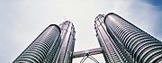 Petronas Towers in Kuala Lumpur, Malaysia.