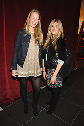 Left to right, ALICE ROTHSCHILD and VICTORIA STANBURY at a party to celebrate the opening of the new H&M store at 234 Regent Street, London on 13th February 2008.<br />