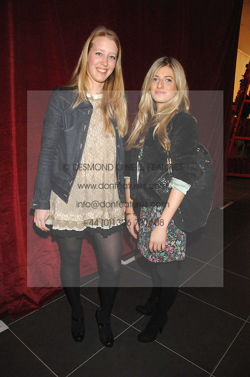 Left to right, ALICE ROTHSCHILD and VICTORIA STANBURY at a party to celebrate the opening of the new H&M store at 234 Regent Street, London on 13th February 2008.<br /><br />NON EXCLUSIVE - WORLD RIGHTS