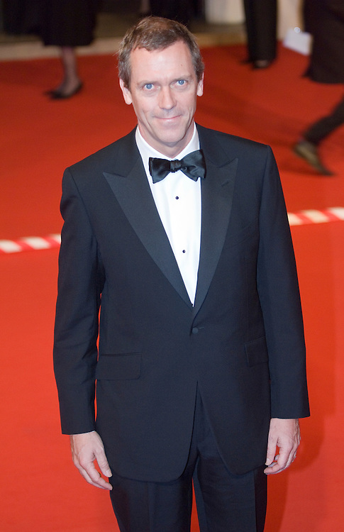 LONDON - FEBRUARY 10: Actor Hugh Laurie arrives at the Orange British Academy Film Awards at the Royal Opera House on February 10, 2008 in London, England.