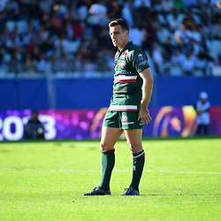 George Ford of Leicester during the European Rugby Champions Cup match between Racing 92 and Leicester Tigers on October 14, 2017 in Colombes, France. (Photo by Dave Winter/Icon Sport)