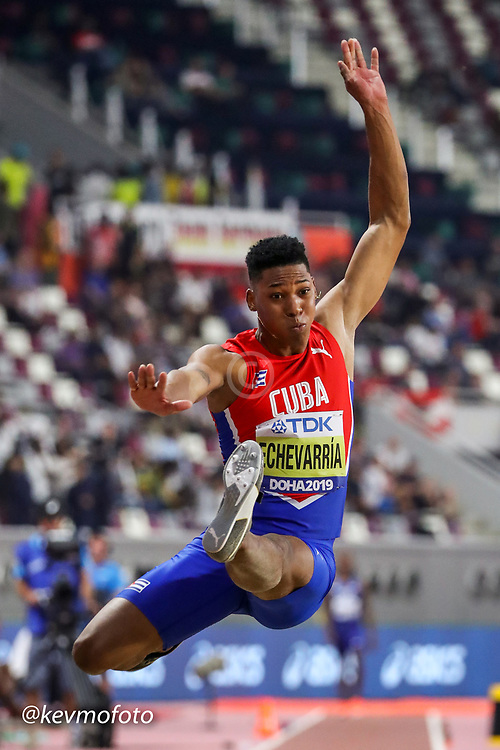 2019 IAAF World Athletics Championships held in Doha, Qatar from September 27- October 6<br /> Day 2<br /> men long jump Cuba