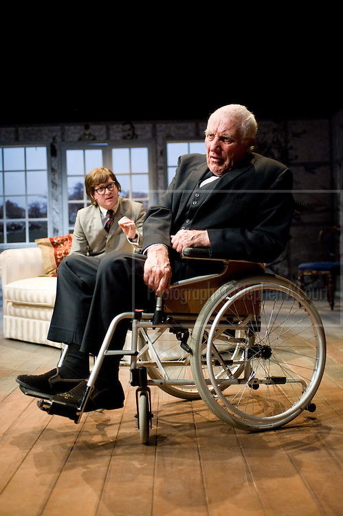 Production photographs of the play Meet The Churchills, at Circa Theatre, Wellington, June 2011. Directed by Ross Jolly. http://www.circa.co.nz/