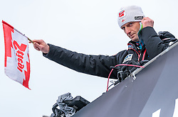 01.01.2018, Olympiaschanze, Garmisch Partenkirchen, GER, FIS Weltcup Ski Sprung, Vierschanzentournee, Garmisch Partenkirchen, Wertungsdurchgang, im Bild Cheftrainer Heinz Kuttin (AUT) // Headcoach Heinz Kuttin of Austria during the Competition Jump for the Four Hills Tournament of FIS Ski Jumping World Cup at the Olympiaschanze in Garmisch Partenkirchen, Germany on 2018/01/01. EXPA Pictures © 2018, PhotoCredit: EXPA/ JFK