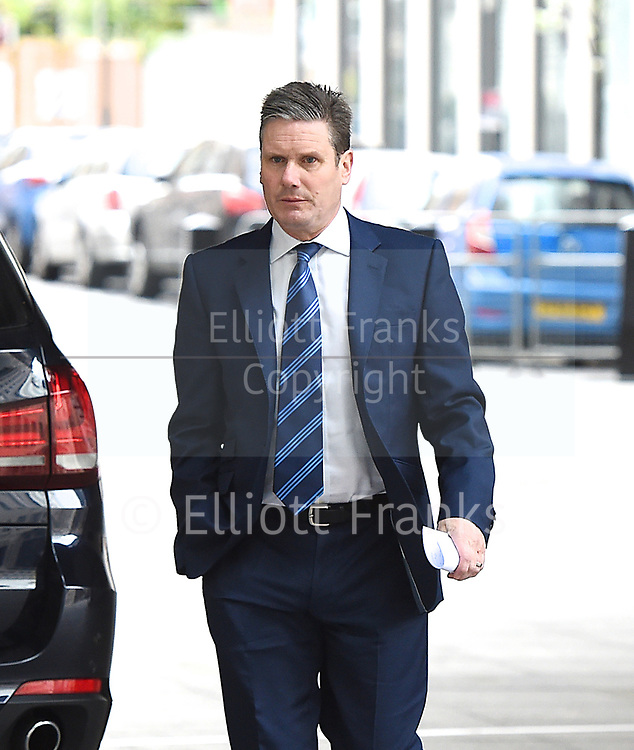 Andrew Marr Show arrivals <br /> BBC, Broadcasting House, London, Great Britain <br /> 26th March 2017 <br /> <br /> Keir Starmer MP <br /> arriving <br /> <br /> <br /> Photograph by Elliott Franks <br /> Image licensed to Elliott Franks Photography Services