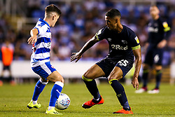 Max Lowe of Derby County takes on Liam Kelly of Reading - Mandatory by-line: Robbie Stephenson/JMP - 03/08/2018 - FOOTBALL - Madejski Stadium - Reading, England - Reading v Derby County - Sky Bet Championship