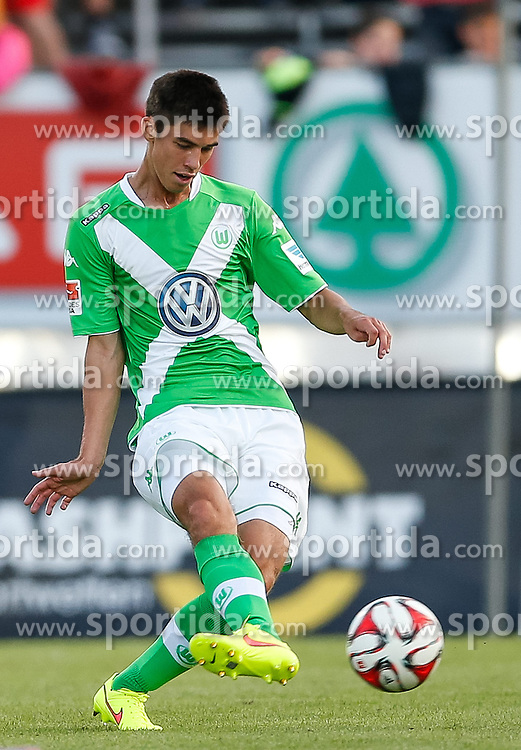 23.07.2014, Cashpoint Arena, Altach, AUT, Testspiel, SCR Altach vs VfL Wolfsburg, im Bild Moritz Sprenger, (Vfl Wolfsburg, #37)// during the friendly Match between SCR Altach vs VfL Wolfsburg at the Cashpoint Arena, Altach Austria on 2014/07/23. EXPA Pictures © 2014, PhotoCredit: EXPA/ Peter Rinderer
