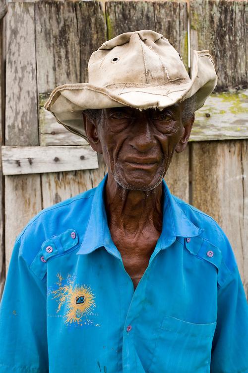 Salto da Divisa_MG, Brasil...Retrato de um idoso em Salto da Divisa, Minas Gerais...A maturity portrait in Salto da Divisa, Minas Gerais...Foto: LEO DRUMOND / NITRO