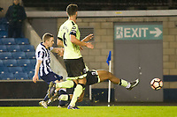Football - 2016 / 2017 FA Cup - Third Round: Millwall vs. AFC Bournemouth<br /> <br /> Shane Ferguson of Millwall scores his team's third goal, at The Den.<br /> <br /> COLORSPORT/WINSTON BYNORTH