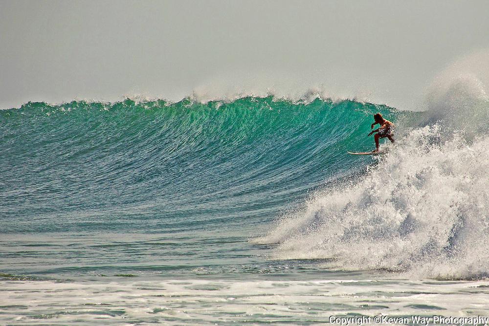 surfing at Arugam Bay Sri Lanka