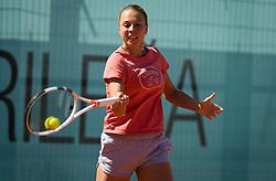 May 6, 2019 - Madrid, MADRID, SPAIN - Anett Kontaveit of Estonia practices at the 2019 Mutua Madrid Open WTA Premier Mandatory tennis tournament (Credit Image: © AFP7 via ZUMA Wire)