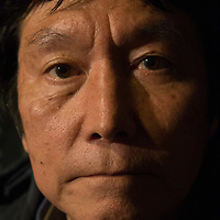 March 28,2016- Fukushima  nuclear decontamination worker and tanka poet , work  as  subcontractor around Fukushima plant  and namie city for cleaning roads  and cut threes  and grass  contaminated by radioactive material, M.I. want to break silence  of nuclear workers  healthcare condition in Fukushima préfecture  .copyright Pierre Boutier