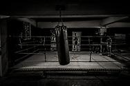 8/11/2016- Danae entrena cada día en la Escuela de Boxeo Ta MI Chau, que dirige el boxeador profesional Jonny Guzmán.