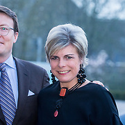 NLD/Amsterdam/20180412 - Prins Constantijn en Prinses Laurentien aanwezig bij uitreiking World Press Photo of the Year, Prins Constantijn en Prinses Laurentien