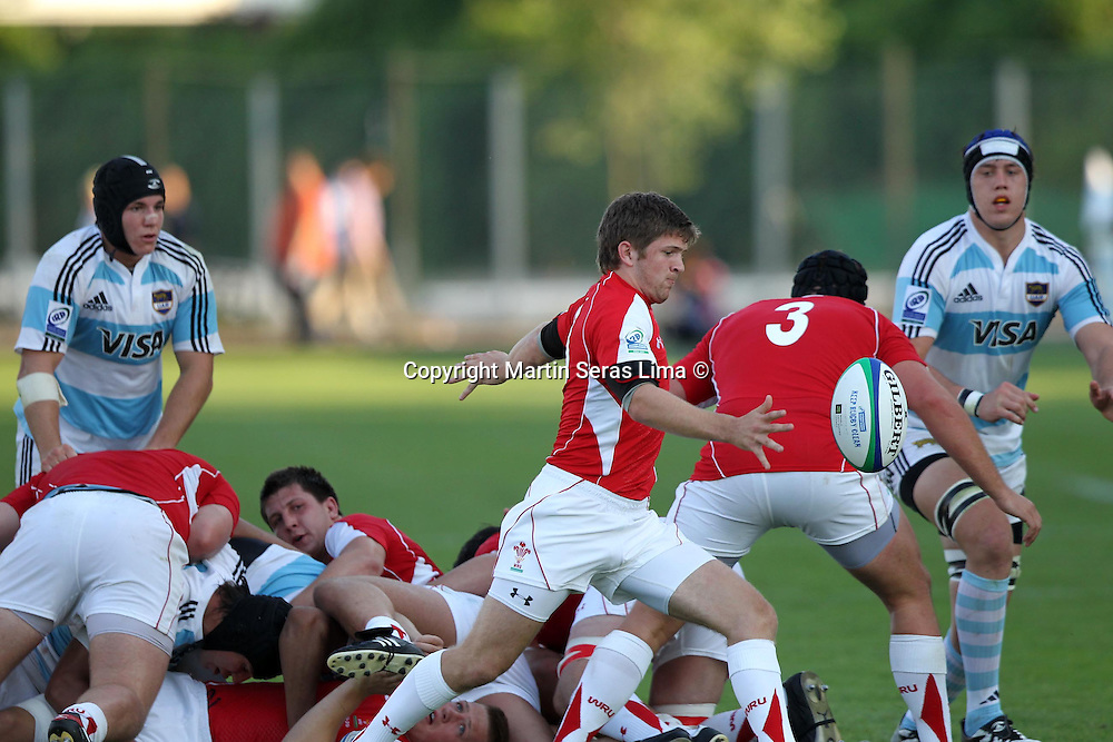 Lewis Jones from Wales- Stadio Plebiscito en Padova - IRB Junior World Championship- Italy 2011 - Photo Martin Seras Lima
