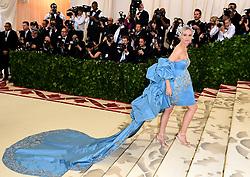 Diane Kruger attending the Metropolitan Museum of Art Costume Institute Benefit Gala 2018 in New York, USA.