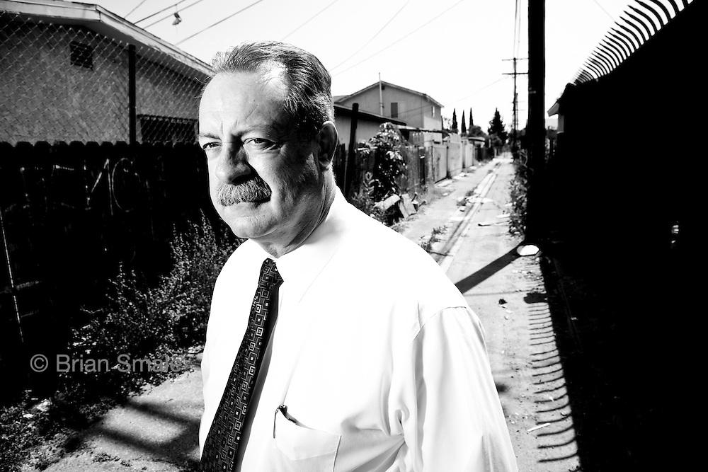 Detective Dennis Kilcoyne, shot in alley behind 1356 E 56th Street, where body of Barbara Ware was found.