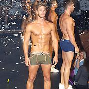 NLD/Rotterdam/20150907 - Lancering Bolas Underwear, modellen show de nieuwe ondergoedlijn