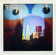 "from the series ""Fake Polaroids"", iPhone photos taken in New York...."