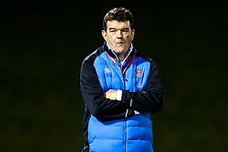 England U20 head coach Steve Bates - Mandatory by-line: Robbie Stephenson/JMP - 22/02/2019 - RUGBY - Zip World Stadium - Colwyn Bay, Wales - Wales U20 v England U20 - Under-20 Six Nations
