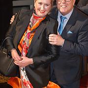 NLD/Amsterdam/20160126 - Goed Gala 2016, Gaston Starreveld en partner Marisa Smid