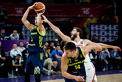 Goran Dragic of Slovenia vs Sergio Rodriguez of Spain during basketball match between National Teams of Slovenia and Spain at Day 15 in Semifinal of the FIBA EuroBasket 2017 at Sinan Erdem Dome in Istanbul, Turkey on September 14, 2017. Photo by Vid Ponikvar / Sportida