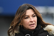 Suzi Perry from BT Sport during the Gran Premio Motul de la Comunitat Valenciana at Circuito Ricardo Tormo Cheste, Valencia, Spain on 17 November 2019.