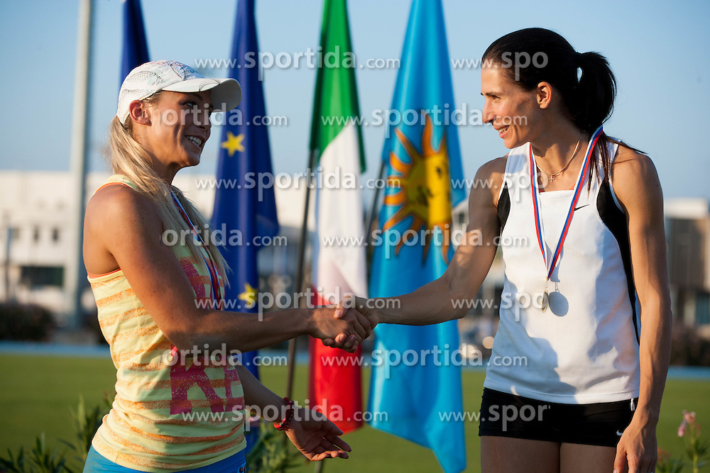 Snezana Rodic and Marija Sestak during Day 1 of Slovenian Athletics National Championships 2012, on July 7, 2012 in Koper, Slovenia.  (Photo by Vid Ponikvar / Sportida.com)