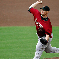 18 July 2007:  Houston Astros pitcher Jason Jennings (23) pitches in the second inning against the Washington Nationals.  Jennings gave up 7 earned runs in 5 innings of work as the Nationals defeated the Astros 7-6 at RFK Stadium in Washington, D.C.  ****For Editorial Use Only****