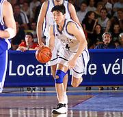 Antibes 21/06/1999<br /> Campionati Europei di Basket Francia 1999<br /> Italia-Bosnia<br /> Davide Bonora