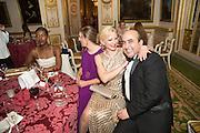 JOCELYN PRAH; CHARLOTTE PELHAM; OLGA GRABENSHCHIKOVA, The 20th Russian Summer Ball, Lancaster House, Proceeds from the event will benefit The Romanov Fund for RussiaLondon. 20 June 2015