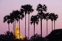Myanmar (ex Birmanie), Province de Mandalay, Site de Pagan ou Bagan, Temple de Patho Ananda, Patrimoine mondial UNESCO // Myanmar (Burma), Mandalay Province, Pagan or Bagan, Patho Ananda temple, Unesco world heritage