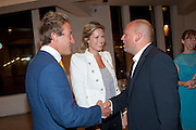 BEN FOGLE; MARINA FOGLE;  SIMON WHEELER; , Maggie's autumn fundraiser in aid of the Cancer charity. .  Phillips de Pury & Company, 9 Howick Place, London <br /> www.maggiescentres.org. 27 September 2010. <br /> <br /> -DO NOT ARCHIVE-© Copyright Photograph by Dafydd Jones. 248 Clapham Rd. London SW9 0PZ. Tel 0207 820 0771. www.dafjones.com.