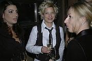 Birkit Schwarz, Pepe Jeans, Sienna Miller  new ambassador party. 17 Berkeley Street, London, W1.  4 October 2006. -DO NOT ARCHIVE-© Copyright Photograph by Dafydd Jones 66 Stockwell Park Rd. London SW9 0DA Tel 020 7733 0108 www.dafjones.com