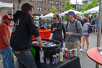 The 5th annual Hyde Park Brew Fest was held Saturday and Sunday, June 5th and 6th, 2018. Participants were treated to a day of music and beer tastings from local breweries with a headline performance by the legendary D.J. Jazzy Jeff. The event was sponsored by the Kimbark Beverage Shoppe, the Hyde Park Chamber of Commerce, Courvosoier and Effen.<br /> <br /> 0113 &ndash; Greg and Colleen Smith enjoy a beer tasting from one of the vendors.<br /> <br /> Please 'Like' &quot;Spencer Bibbs Photography&quot; on Facebook.<br /> <br /> Please leave a review for Spencer Bibbs Photography on Yelp.<br /> <br /> Please check me out on Twitter under Spencer Bibbs Photography.<br /> <br /> All rights to this photo are owned by Spencer Bibbs of Spencer Bibbs Photography and may only be used in any way shape or form, whole or in part with written permission by the owner of the photo, Spencer Bibbs.<br /> <br /> For all of your photography needs, please contact Spencer Bibbs at 773-895-4744. I can also be reached in the following ways:<br /> <br /> Website &ndash; www.spbdigitalconcepts.photoshelter.com<br /> <br /> Text - Text &ldquo;Spencer Bibbs&rdquo; to 72727<br /> <br /> Email &ndash; spencerbibbsphotography@yahoo.com<br /> <br /> #killyourcity #citykillerz #illgramers #way2ill #agameoftones #urbex #createexplore #exploretocreate #streetactivityteam #streetdreamsmag #neverstopexploring #featuremeinstagood #igersone #shoot2kill #streetshared #streetmobs #urbanphotography #streetphotography #streetexploration #urbanandstreet #imaginatones #streettogether #streetmagazine #streetmobs #peopleinsquare #moodygrams #illgrammers #instamagazine #twgrammers #shotaroundmag #illkillers #killergrams #superhubs #urbanromantix #livefolk #shotaward #_heater #yngkillers #shotzdelight #1stinstinct  #heatercentral <br /> #agameoftones #ig_masterpiece #ig_exquisite #ig_shotz #global_hotshotz #superhubs #main_vision #master_shots #exclusive_shots #hubs_united #jaw_dropping_shotz #worldshotz #theworldshotz #pixel_ig #photographyislifee #photographyislife #photographysouls #photographyeveryday #photographylover #worldbestgram #iglobal_photographers #ig_