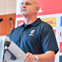 Director of the HSBC Sevens Tournament Douglas Langley during Captains photocall and press conference prior to the Hsbc Paris Rugby Sevens on June 6, 2018 in Paris, France. (Photo by Aude Alcover/Icon Sport)