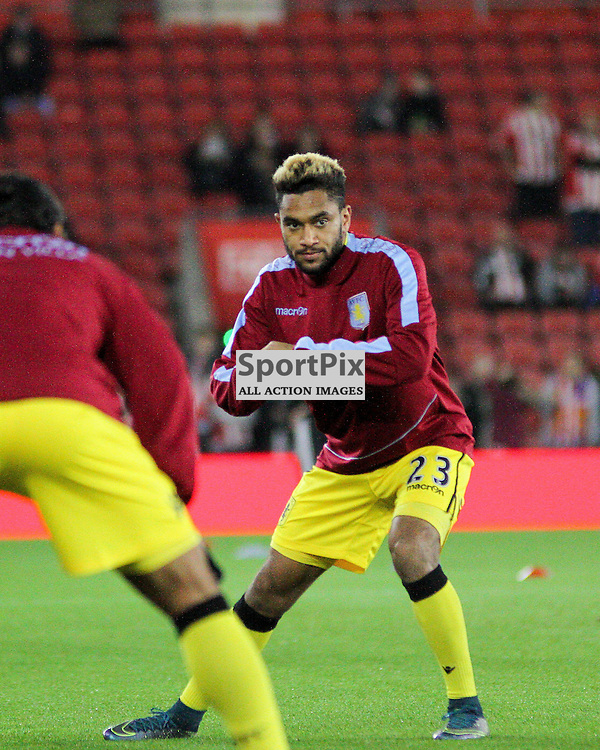 Jordan Amavi before Southampton vs Aston Villa on Wednesday the 28th October 2015.
