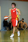 UK - Tuesday, Nov 18 2008:  Ants Rouhijainen, Erks' Estonian guard,  during Barking and Dagenham Erkenwald Basketball Club's Essex Basketball League game against Brightlingsea Sledgehammers. Erks won the game 91 - 86. (Photo by Peter Horrell / http://www.peterhorrell.com)