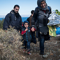 Migrant Crisis on Lesbos (2015)