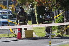 Hastings - Fire crews remove suspicious drum