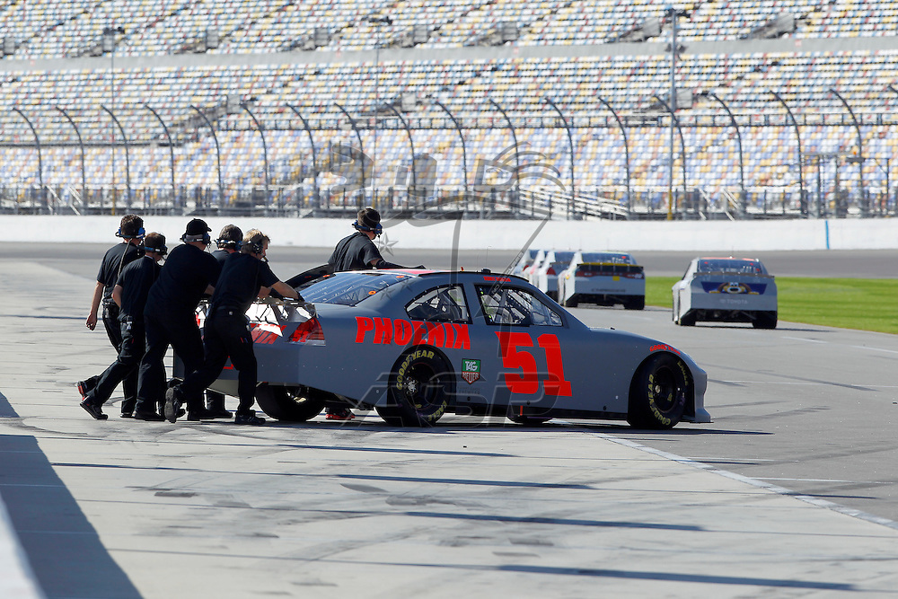 12 January, 2012:   during open testing for the NASCAR Sprint Cup Series at the Daytona International Speedway in Daytona Beach, FL.